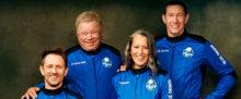 William Shatner and the Blue Origin Crew